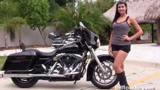 6. Used 2007 Harley Davidson Street Glide Motorcycles for sale in Florida