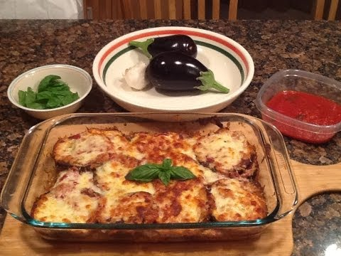 Eggplant Parmesan - Italian Style - Melanzane