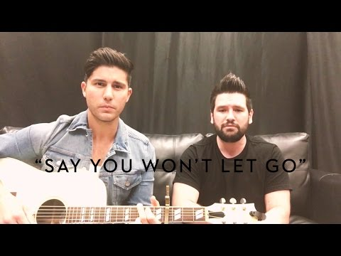 Say You Won't Let Go James Arthur Cover