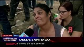 Continúa búsqueda de víctimas por deslizamiento de tierra en Santiago. Resumen desde zona norte RD