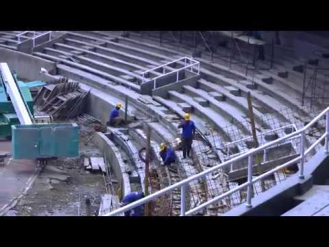 Obras de remodelación en el Estadio Pascual Guerrero