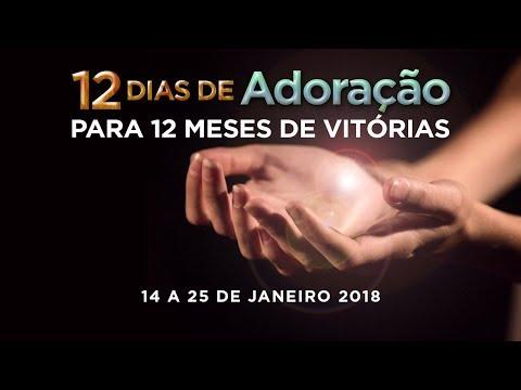 Jefté Caetano - 12 dias de Adoração (6º Dia) - 19/