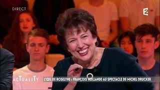 Video L'œil de Roselyne : Hollande au spectacle de Michel Drucker #AcTualiTy MP3, 3GP, MP4, WEBM, AVI, FLV September 2017