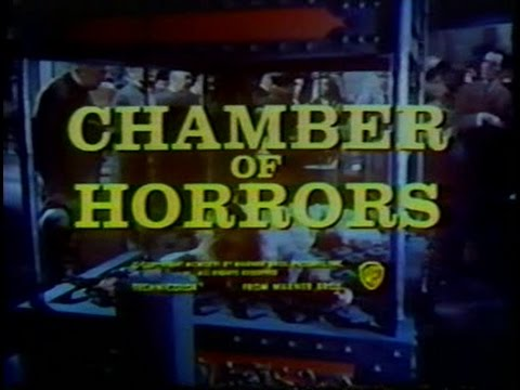 CHAMBER OF HORRORS - (1966) TV Trailers WITH HORROR HORN!