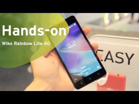 Wiko Rainbow Lite 4G hands-on (Dutch)