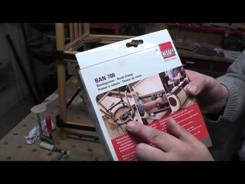 Bandspanner, hilfreich beim Stuhl reparieren