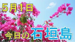 5月1日の石垣島天気
