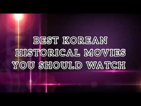 Best Korean Historical Movies You Should Watch 📽