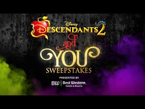 Descendants 2 (Behind the Scenes 'Character Makeover with Sofia & Cameron!')