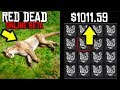 HOW I MADE OVER $1000 in Red Dead Online! RDR2 Best Way to Make Money!