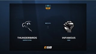 Thunderbirds vs Infamous, Game 2, Dota Summit 7, AM Qualifier