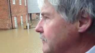 Tewkesbury United Kingdom  city pictures gallery : UK Floods: Interview with flooding victim Jim Chapman, Tewkesbury