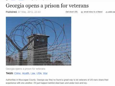 Georgia opens a prison for veterans