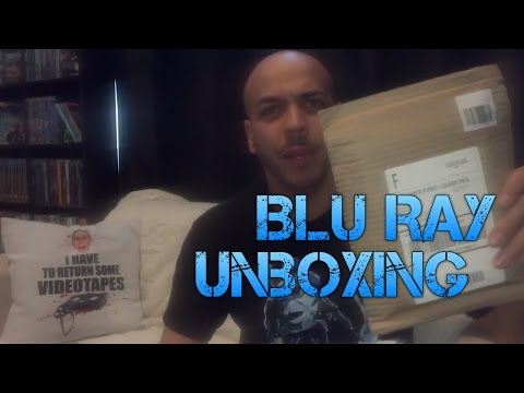 Unboxing A Blu Ray In The Mail