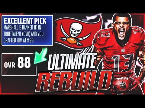 GREATEST DRAFT PICK IN MADDEN 18 HISTORY! | Tampa Bay Buccaneers Ultimate Rebuild -- EP 6