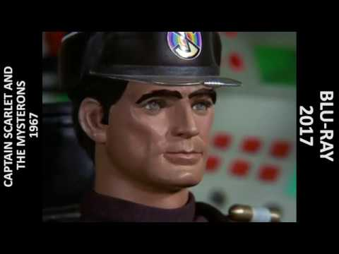 Captain Scarlet - The Mysterons - VHS/Blu Ray Comparison