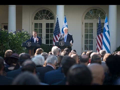 "Video - Διεθνή ΜΜΕ για Τραμπ - Τσίπρα: Η ""παραγωγική"" συνάντηση και η ερώτηση περί ""κακού"" Τραμπ"