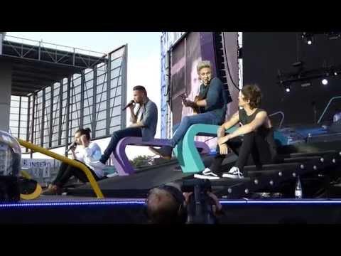 One Direction - Little Things (Horsens, Denmark 16.06.2015) (видео)