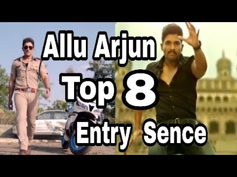 Allu Arjun top 8 best entry sence