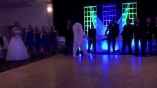 First Dance Surprise Groomsmen vs. Bridesmaids Dance Off
