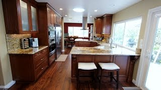 Traditional Style Kitchen Remodel in Fountain Valley by Top General Contractor Orange County