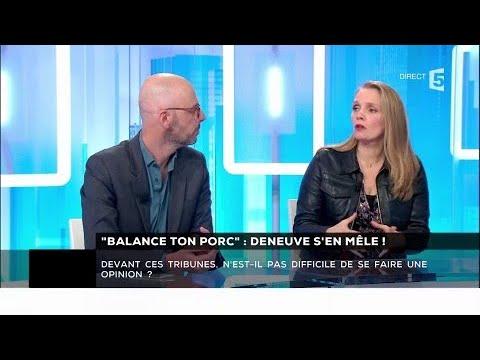 """""""Balance ton porc"""" : Deneuve s'en mêle ! - Les questions SMS #cdanslair 10.01.2018"""