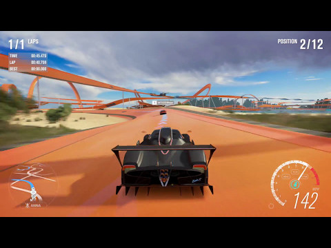 Forza Horizon 3 Hot Wheels Expansion - Hot Wheels Goliath In Zonda R! Hot Wheels Completed!