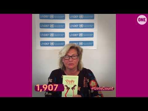 #GirlsCount   Annika Savill - 1,907