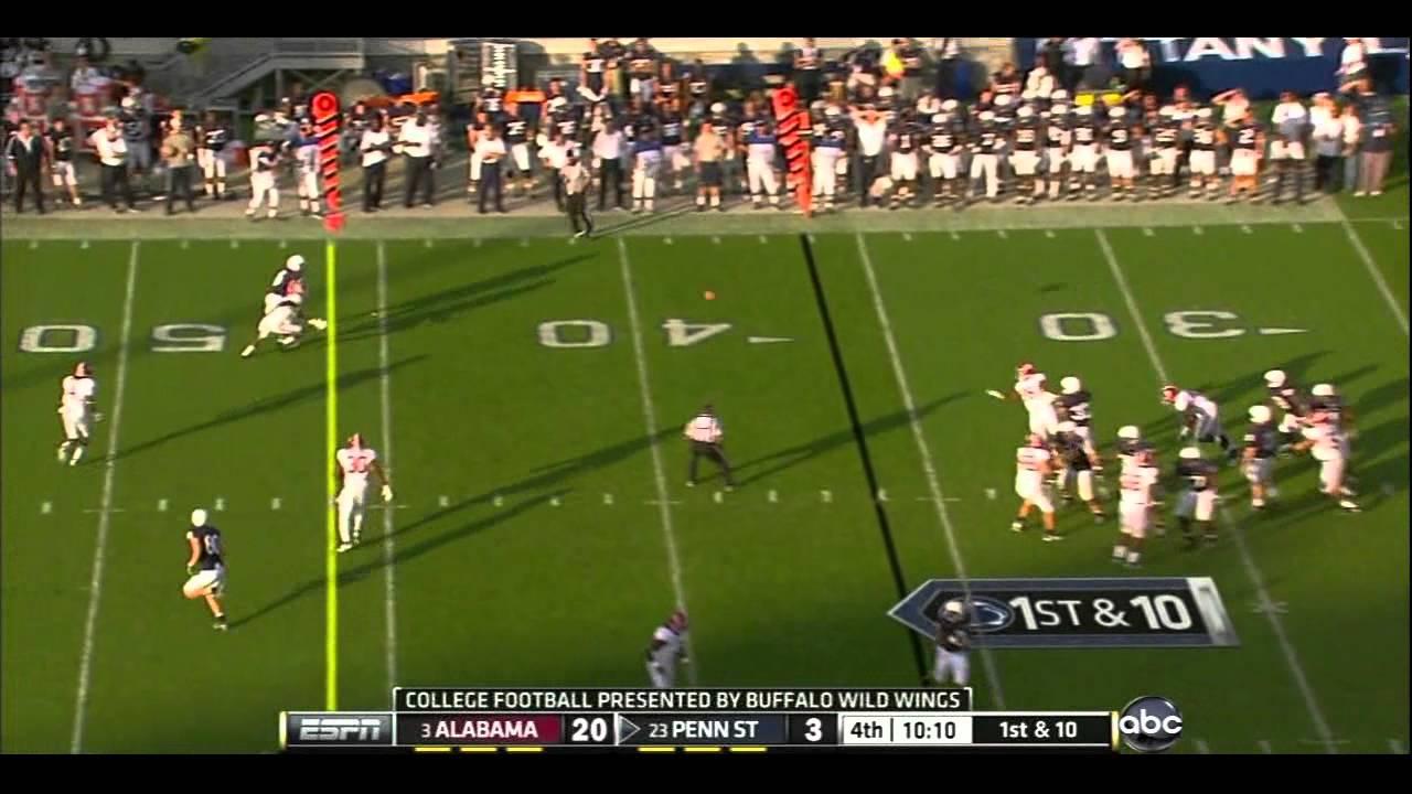Dre Kirkpatrick vs Penn State 2011