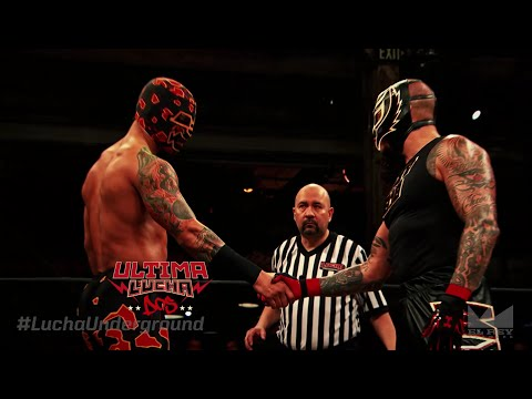 Ultima Lucha Dos: Part 3: Prince Puma Vs. Rey Mysterio Jr.