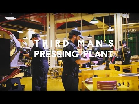 Third Man Records Detroit Pressing Plant