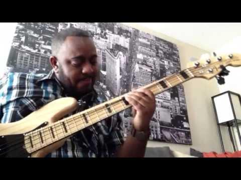 Donnie McClurkin - Days of Elijah (Live) bass cover