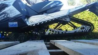 9. 2014 Arctic Cat XF High Country 9000 (1100Turbo) on stand