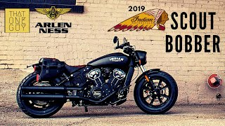 9. 2019 Indian Scout Bobber | Demo test ride and review at Arlen Ness Motorcycles