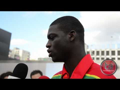 kirani james interview before the greatest show
