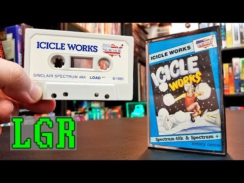 LGR - Icicle Works - Commodore 64 Game Review