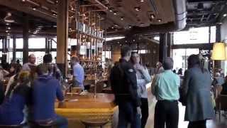 米シアトル・スターバックスの新実験的カフェスタジオ ★ロースタリー