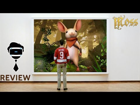 The Most Beautiful VR Game | MOSS PSVR REVIEW (PS4 Pro)