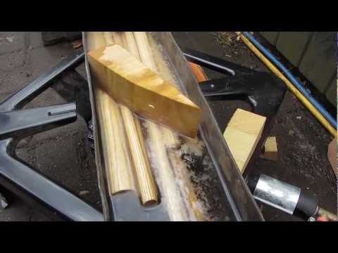 Wood Bending by Boiling - Sussex Chair Part 6