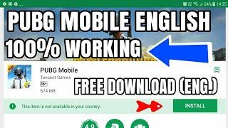 Video PUBG Mobile ENGLISH VERSION APK DOWNLOAD 100% WORKING TESTED MP3, 3GP, MP4, WEBM, AVI, FLV Juli 2018