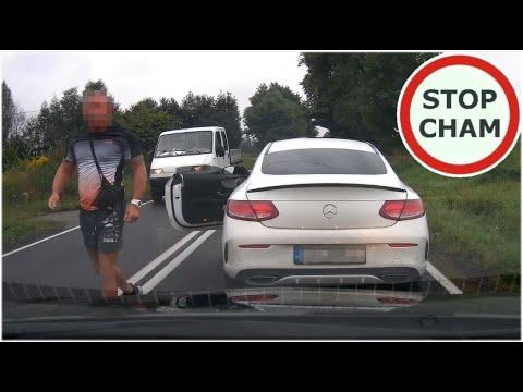 Plujek w Mercedesie uczulony na klakson i kamerkę