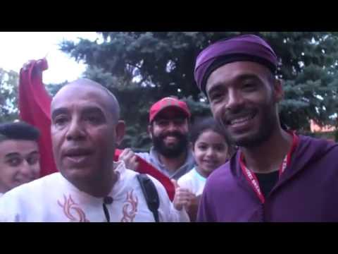Salamate Gnawa a la fête du trône du royaume du Maroc.