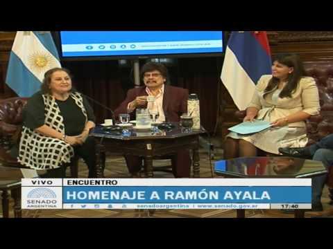 Homenaje a Ramón Ayala en el Senado de la Nación