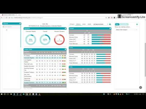 BTC Stats Software – Fixture Search