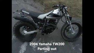 10. 2004 Yamaha TW200
