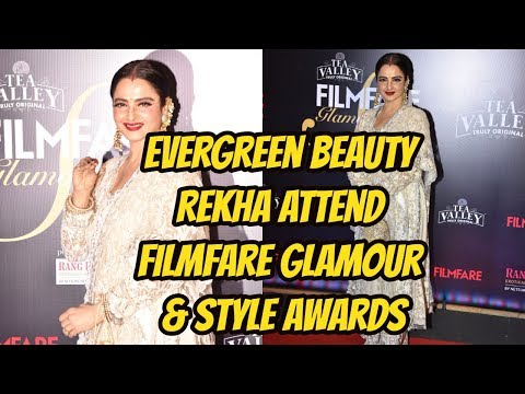 Evergreen Beauty Rekha At Filmfare Glamour & Style Awards
