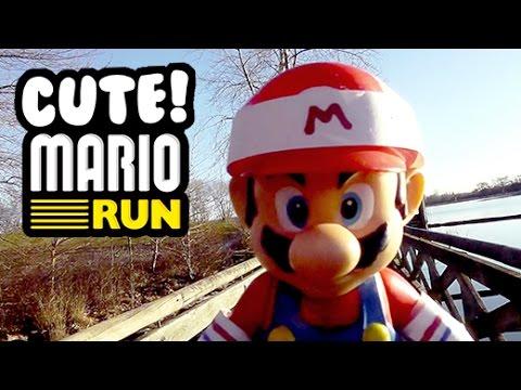 MARIO RUN! - Cute Mario Bros. (видео)