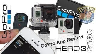 Video GoPro Hero 3 : SmartPhone/Tablet App - Setup & Review MP3, 3GP, MP4, WEBM, AVI, FLV Februari 2019