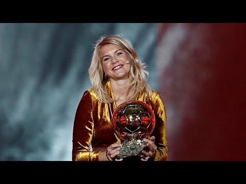 Sexismus-Vorfall beim Ballon d'Or: Preisträgerin Ada  ...