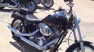 9. 2004 Harley Davidson FXSTI Softail for sale at Hoppers Custom Cycles